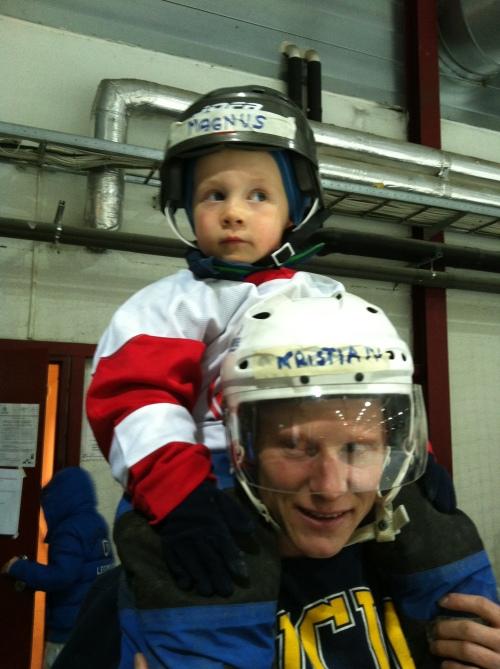 Hockeyskole i Bærum Ishall