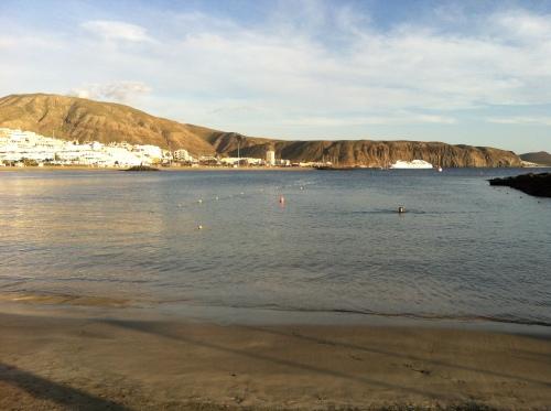 Svømmebane ved Playa Las Vistas