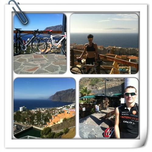 Her har vi tatt turen til Los Gigantes. Flott utsiktssted og en fin sykkeltur som alle kan klare.