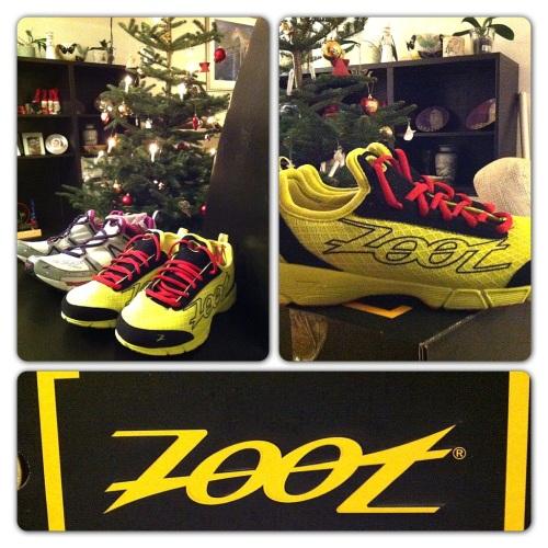 Disse skoene skal jeg forhåpentlig løpe mye i fremover. Zoot Ultra Kalani og Zoot Kiawe. Gleder meg!