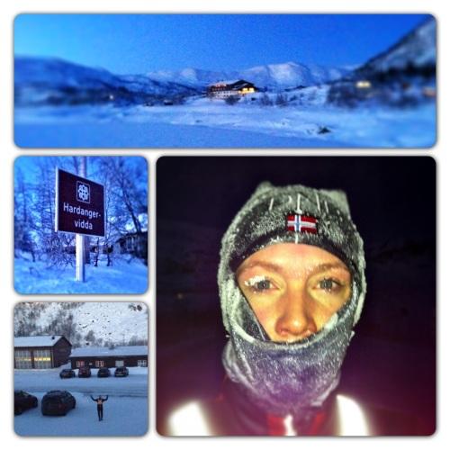 Vinterløping i kulda