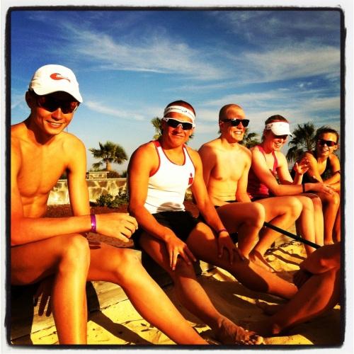 Strandvolleyballturnering ble det tid til når vi hadde noen timer fri på ettermiddagen.