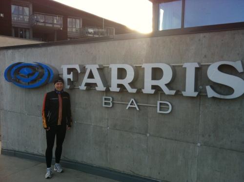 Morgentur fra Farris Bad