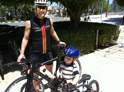 Kypros hadde gode sykkelmuligheter for liten og stor!