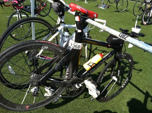 Sykkelen gjorde jobben, det er maskinen oppå som må forbedres. Ett sekund av gangen.