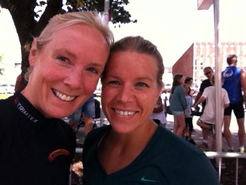 Ingen tvil om at Sara motiverte meg i Tønsberg. Hun er en råtass!