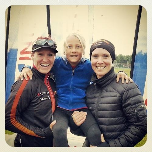 En av Magnus sine barnevakter for dagen, Vilde, er ei super hyggelig jente som har store mål for sin triathlonkarriere. Jeg gleder meg til å følge henne fremover!