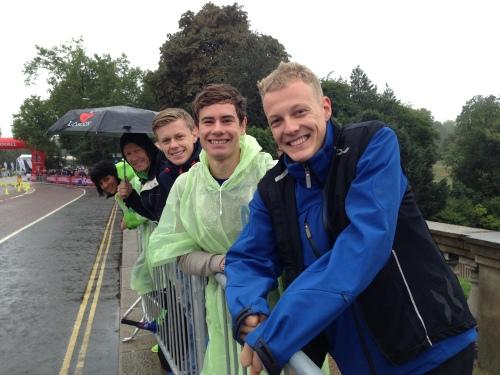 Morten Hansen, Gustav Iden og Casper Stornes var alle i aksjon i går. Gustav ble like godt verdensmester i yngste klasse. Gratulerer!!