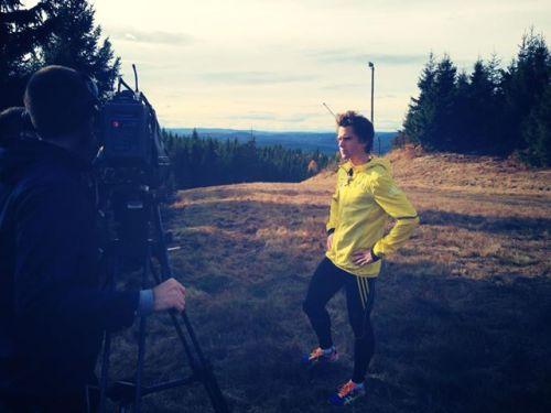 Her er det Eirik Gramstad som videointervjues til et innslag på TV2 Hjelper Deg om et par ukers tid.