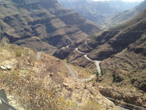 Der kom vi opp, kjempefine veier og passende klatringer.