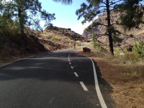 Jeg ble stadig imponert over hvor god veikvaliteten er her på Gran Canaria.