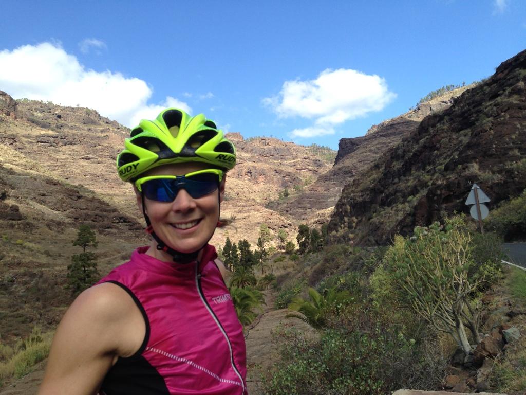 Det er fint å være syklist på Gran Canaria!