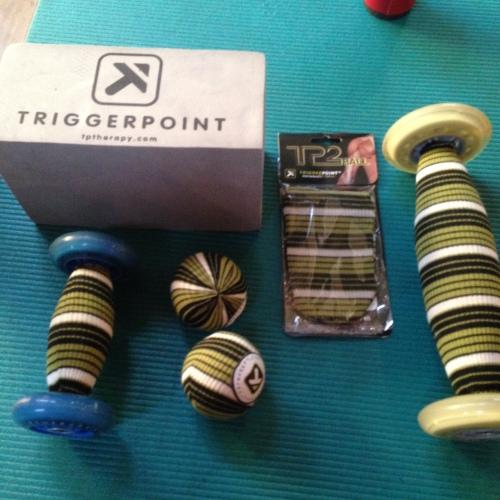 Alt dette ligger i Ultimate 6 Kit. En god blanding torturredskaper som lover å gi meg mindre smerter på sikt.