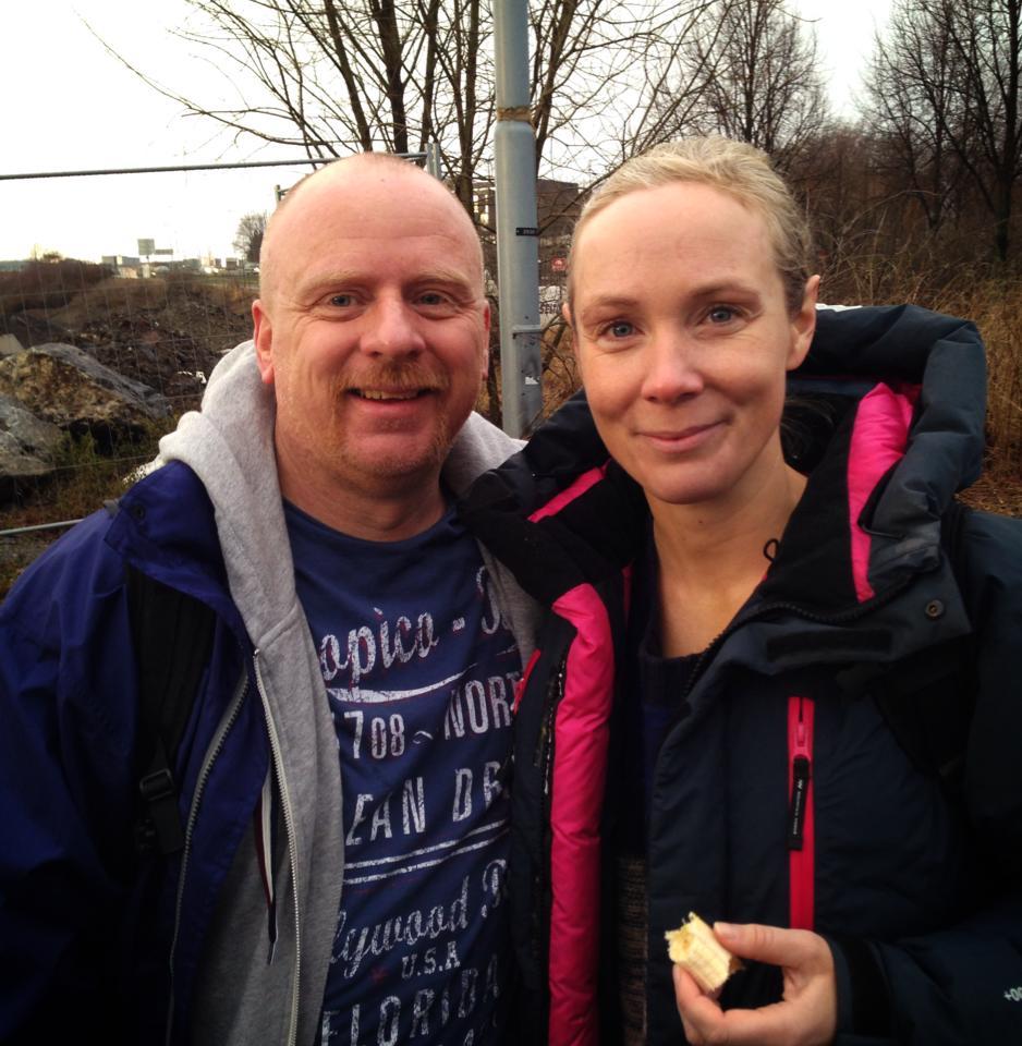 Robert har gått ned ti kilo siden han startet ironman-satsingen i sommer. Ironman Kalmar i august er målet.