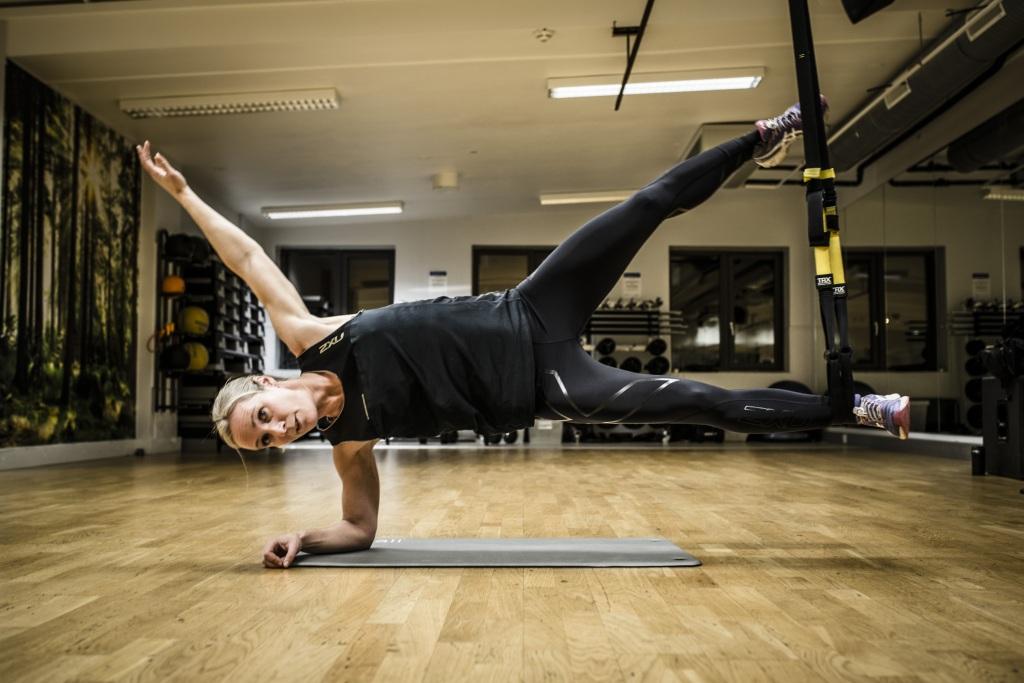 Sjøstjerna er en av mine favorittøvelser. Veldig tungt og utfordrende for hele kroppen. Foto: Jørgen Melau.