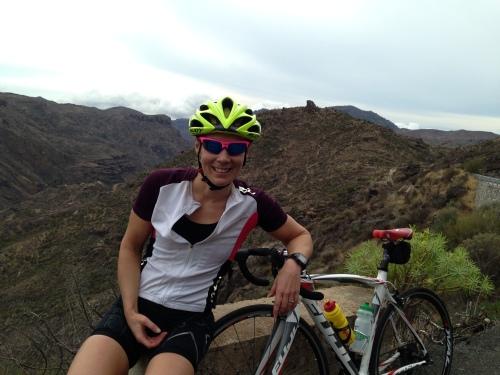 En pust i bakken mellom Presa de las Ninos og Ayacata.