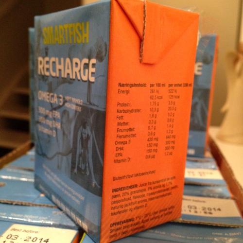Innhold i Smartfish Recharge