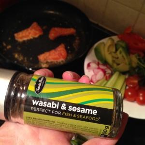 nydelig krydder til laks