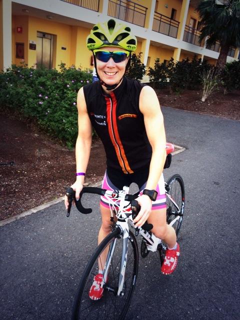 Klar for en av mange sykkelturer denne uka. Godt å endelig være venner med sykkelen!