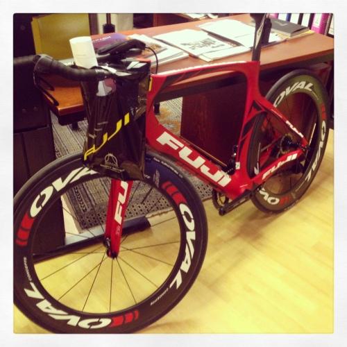 Denne sykkelen blir min neste sesong. Norcom Straight 1.3 fra Fuji. Gleder meg til å teste den, forventes inn i mars.