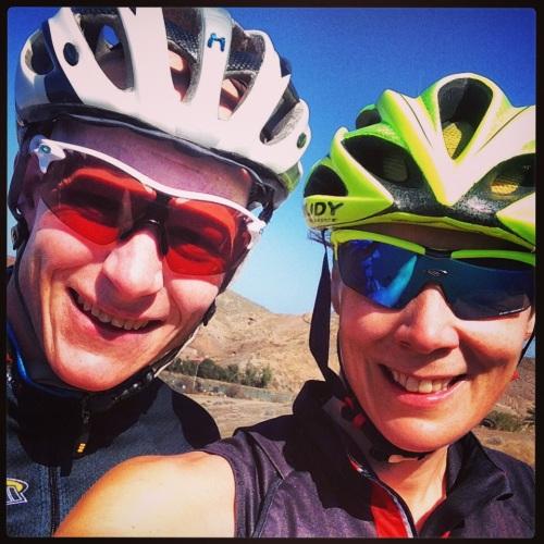 På sykkeltur sammen