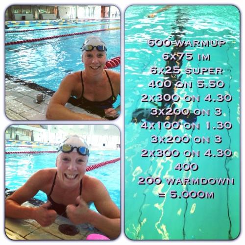 Sånn svømmer du 5000 meter på 80 minutter!