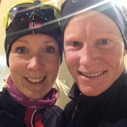 Klar for løpetur i Stockholm