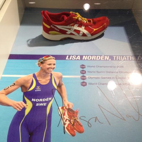 Lisa vant sin OL medalje med disse skoene.