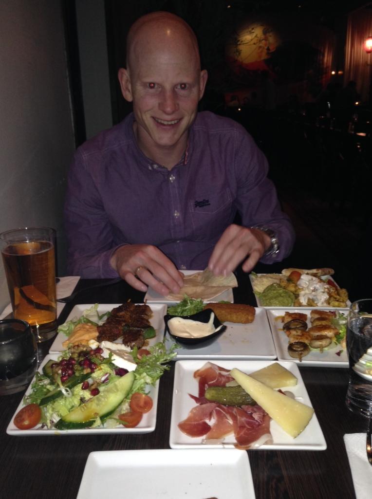 Liker du tapas er Caliente Tapas Bar stedet å gå i Stockholm. Mye bra mat for pengene!