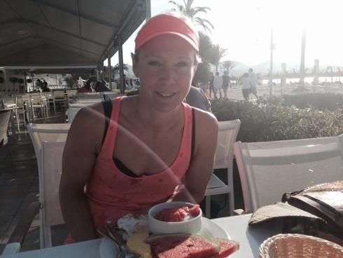 Frokost på stranden