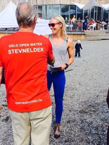 Med brukket legg passet Open water konkurransene i fjor sommer ypperlig. Bli med du også!