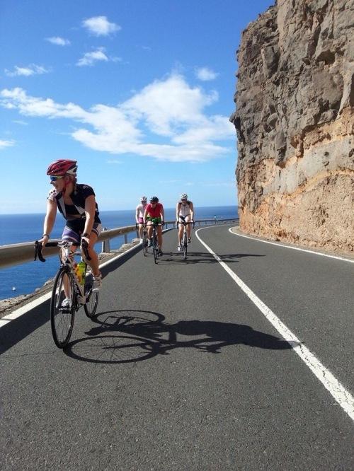 Før jul var jeg på Gran Canaria et par uker. Første uken rullet jeg inn 44 mil, slett ikke verst når det egentlig er et sted jeg heller teller høydemeter enn kilometer.