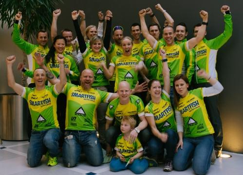 For en herlig gjeng! Gleder meg stort til å være en del av dette teamet for sesongen 2015. Foto: Henriette Tronrud.