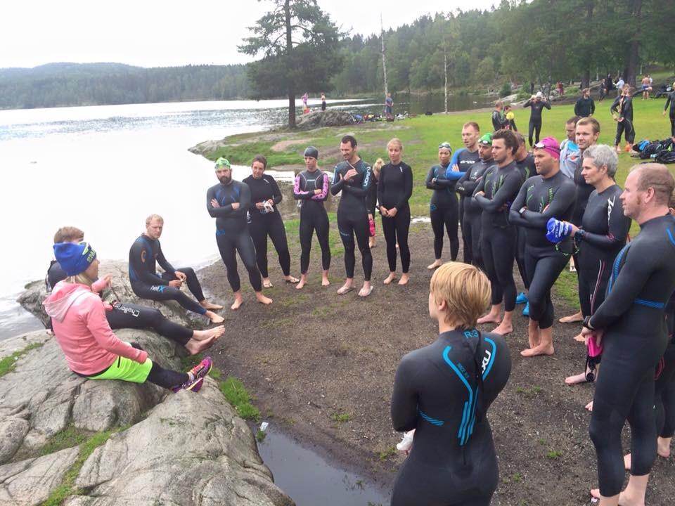 Fra fjorårets kurs på Sognsvann. Håper du vil være med i år også!