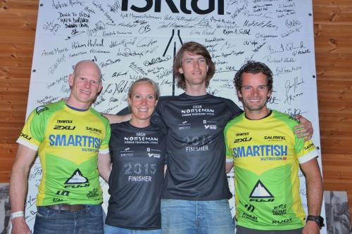 Verdens beste supportteam! Foto: Marianne Sleire.