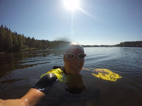 Jeg har aldri svømt så mye open water som de siste ukene. Så har jeg vel heller aldri vært så dårlig i magen...