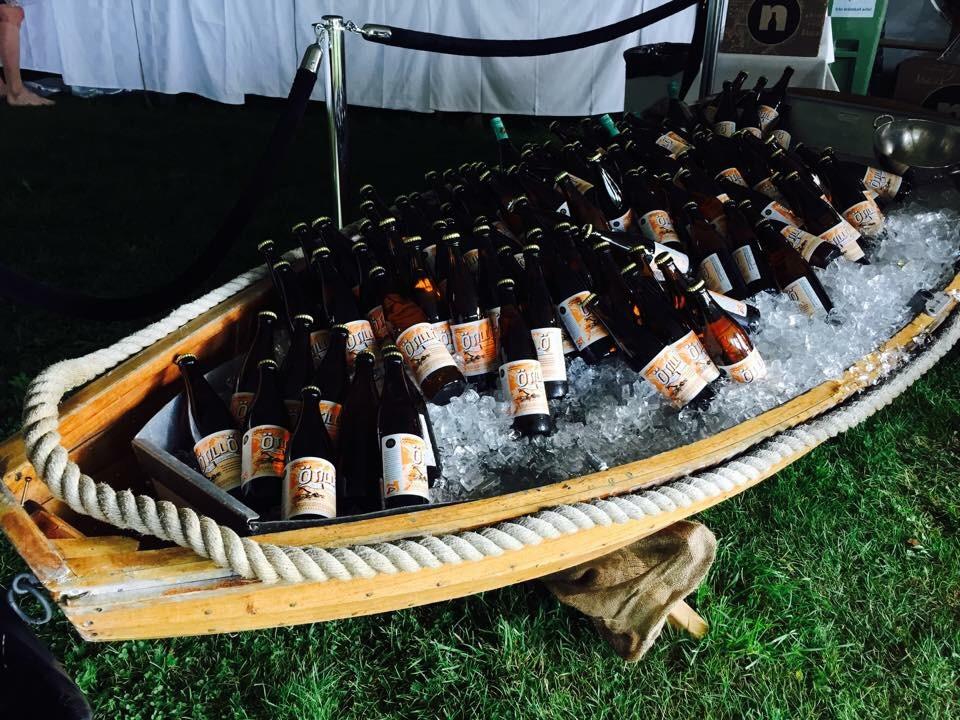 Eget øl må jo enhver konkurrranse med respekt for seg selv ha?