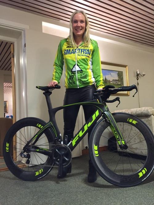 Ny sesong - ny sykkel!! Takk til Birk Sport for super service og fortsatt tro på prosjektet.