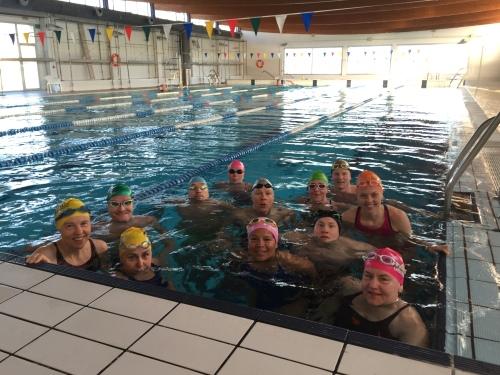 Humøret var på topp og denne gjengen var ivrig innstilt på å bli bedre svømmere mens de var på leir. Det var motiverende for meg som trener!