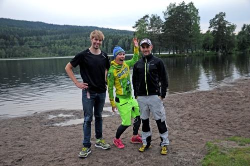 Kristian Horne og Stefan Mintsev var instruktører sammen med meg på Sognsvann i går. Mye erfaring samlet på en plass!