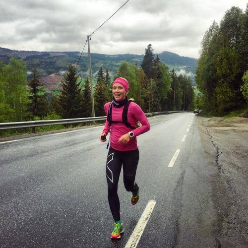 KAri løper NOrseman