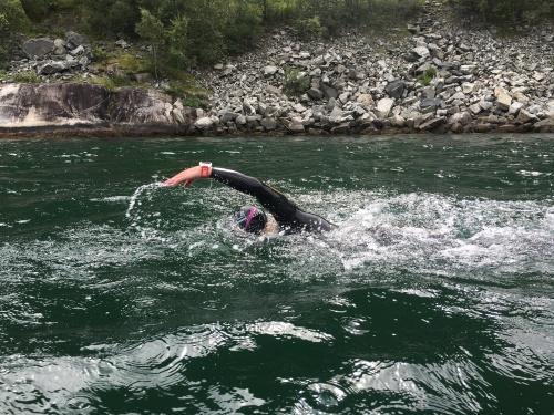 Kari svøm Eidfjord