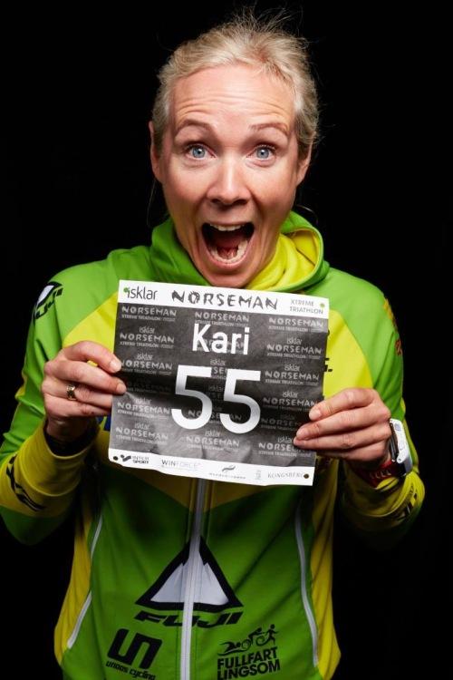 Kari har nummer 55 i Norseman