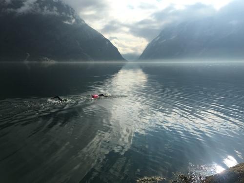 Å bli trygg på Ironmandistansen har vært viktig for meg før Norseman. Denne turen i Eidfjord var magisk.