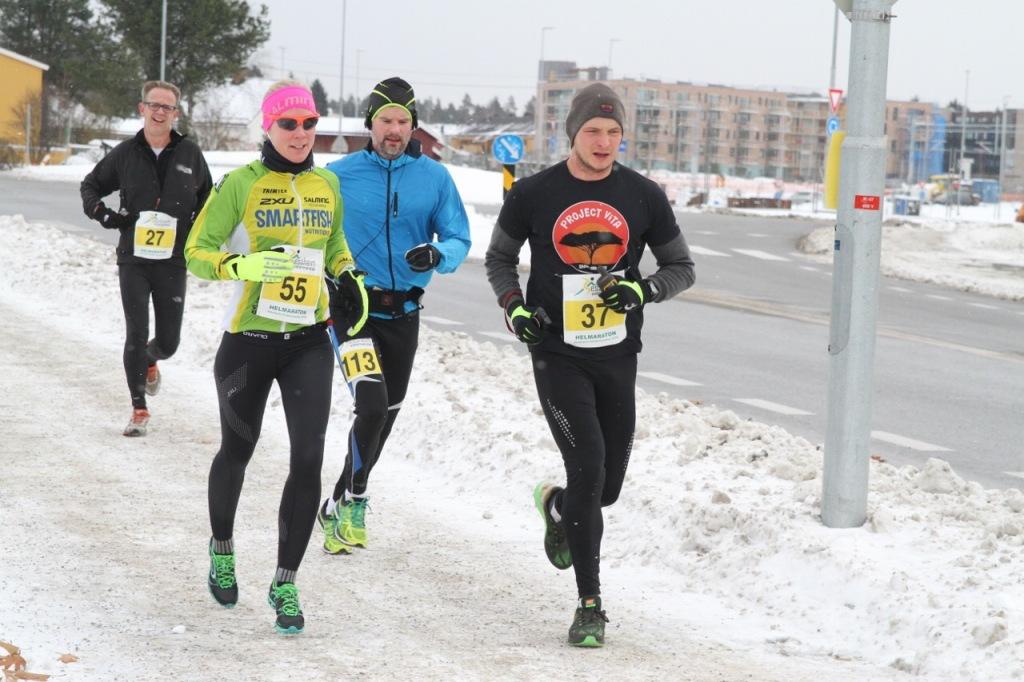 Kari Løper JEssheim vintermaraton